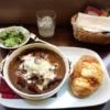 【カフェ・ド・カフェ(三田)】細やかなこだわりの効いたカフェでトロットロのビーフシ