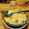 【飲食笑商何屋ねこ膳(新宿)】猫ぜん名物!つゆ味強めの日本的カレーグラタンをいただ