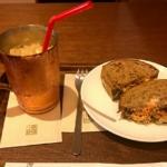 【上島珈琲店 赤坂一ツ木通り店】さばサンドが食べられるのはこの店舗だけ?!【チケットレストラン利用可!】