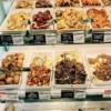 【たしのチケレス節約 1ヶ月チャレンジ*1にちめ】惣菜6種類+塩むすび【キッチンオリジ